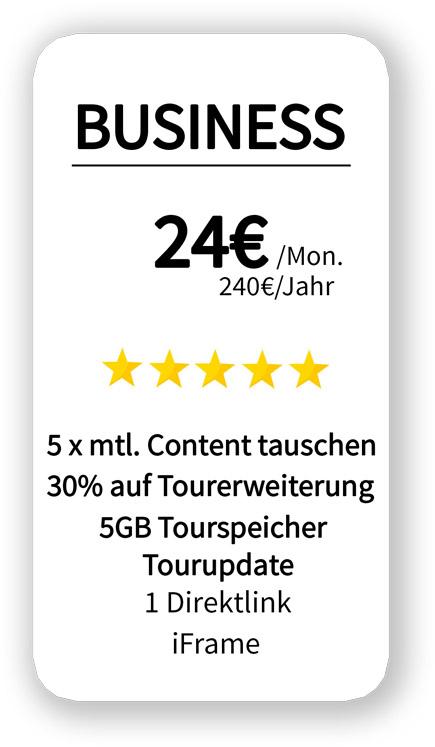 hosting Angebot für 5 GB Speicher 24 Euro pro Monat